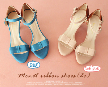 *정상가 48500원* Monet ribbon shoes(2c)