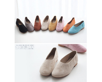 *정상가 33000원* Suede flat_8color