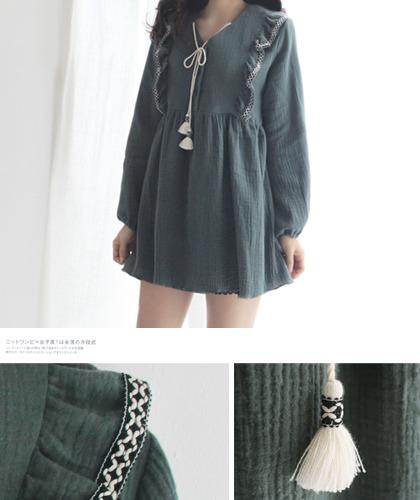 �Ƹ��� khaki tunic