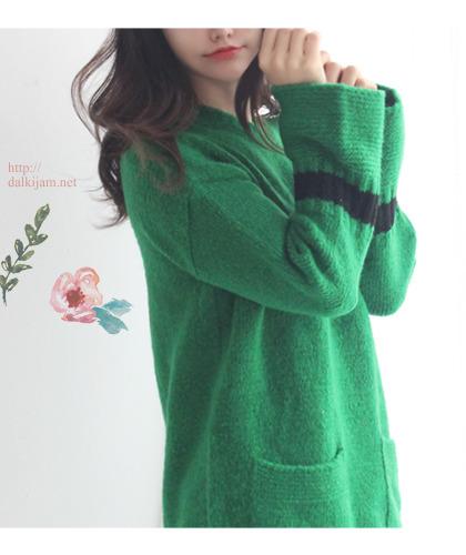 Green tea knit