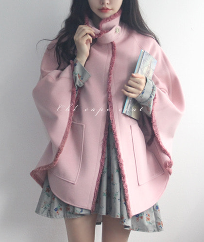 Chl cape coat-캐시미어