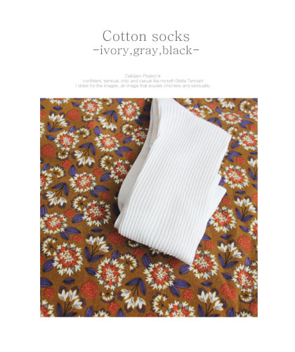 Cotton socks..3c